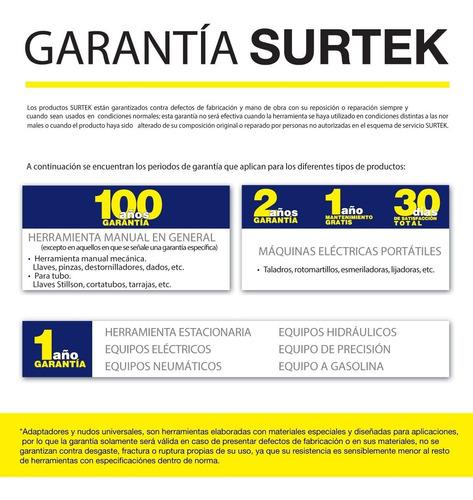 casco de seguridad con ajuste de matraca amarillo surtek 137
