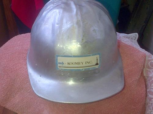 casco de seguridad de aluminio
