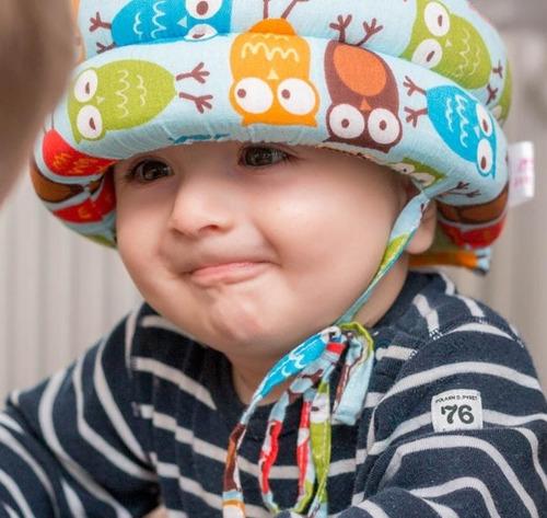 casco de seguridad gorro protector bebes niños antigolpes