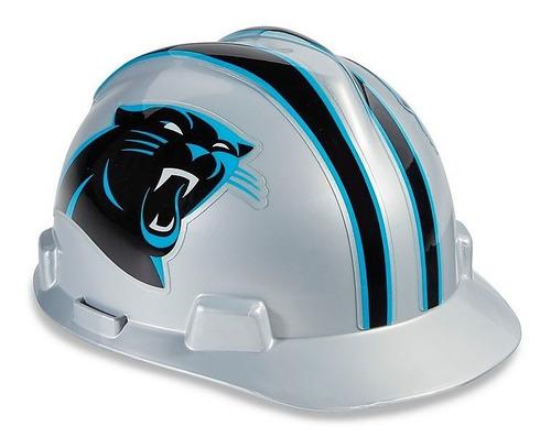 casco de seguridad nfl - carolina panthers