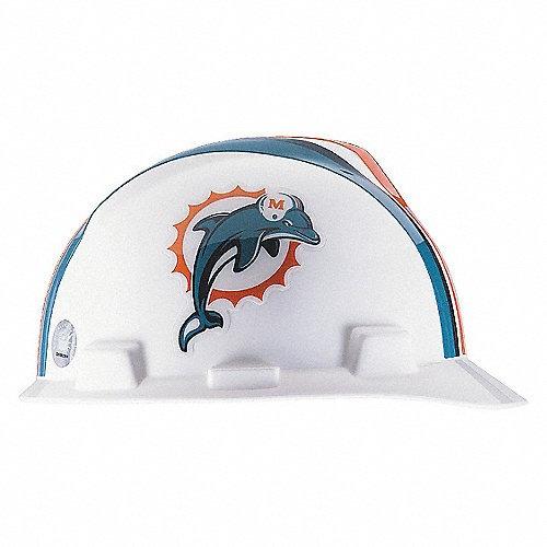 casco de seguridad nfl - dolphins de miami