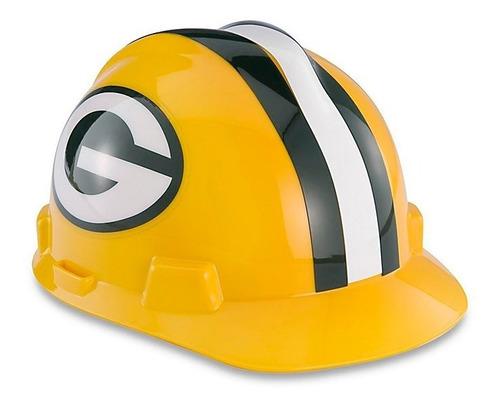 casco de seguridad nfl - packers de green bay