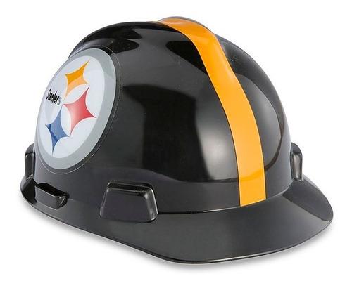 casco de seguridad nfl - steelers de pittsburgh