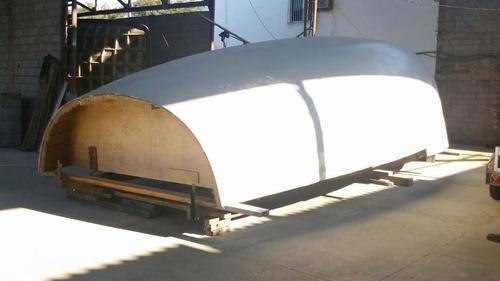 casco de trawler curruira 33 fibra vidro divinicel inacabado