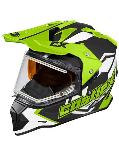 casco deportivo castle mode sv team eléctrico doble visib sm