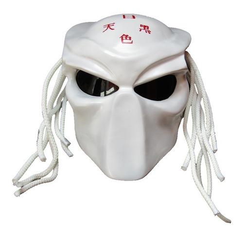 casco depredador blanco, envio gratis!!!