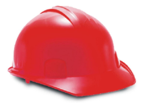 casco dielectrico rojo 4 apoyos weld well suspension textil