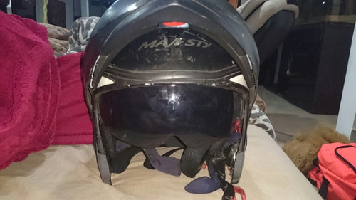 casco edge 13 integrado abatible l