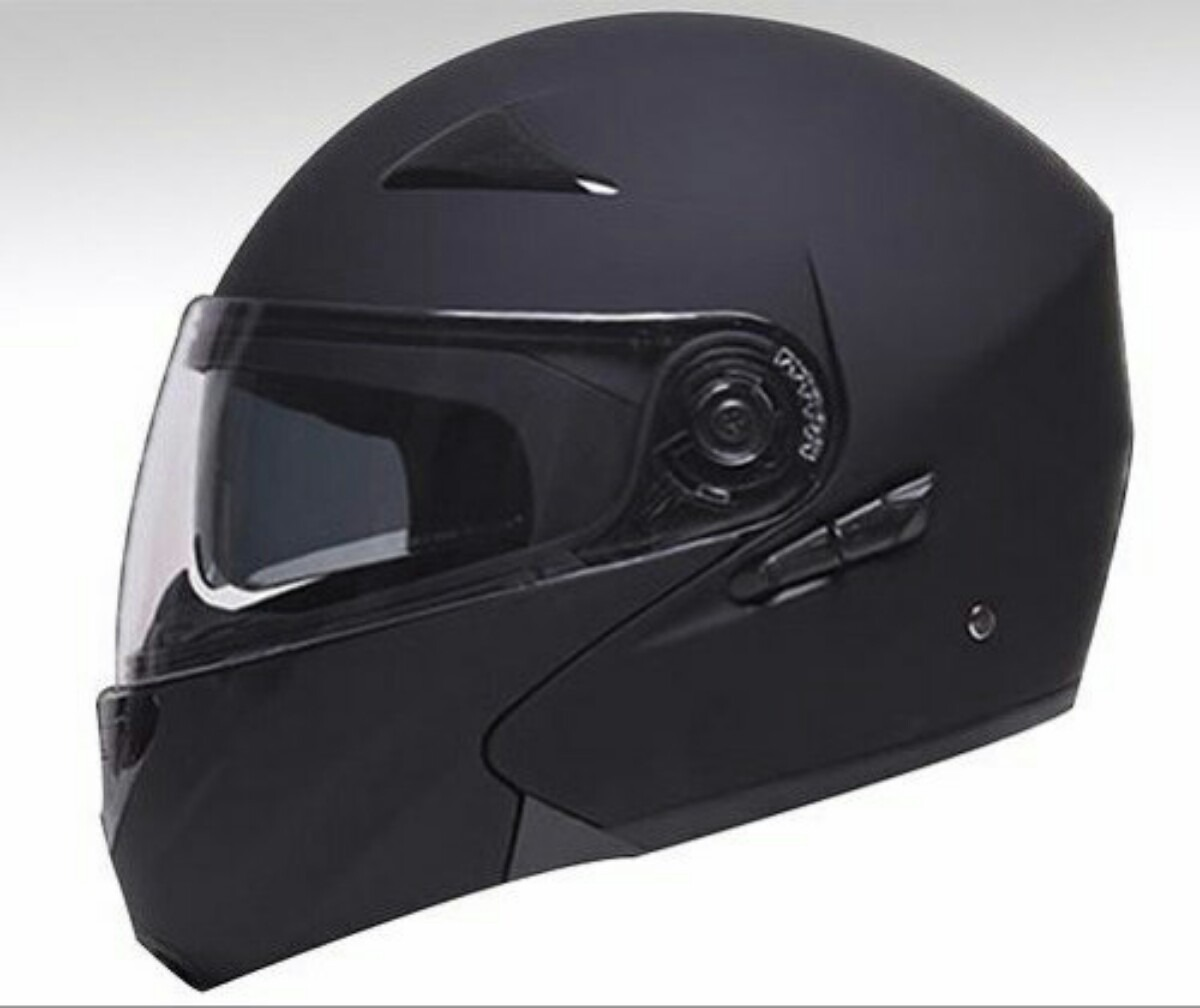 db363bbd57a58 Casco Faseed 901 Abatible Negro Mate -   1