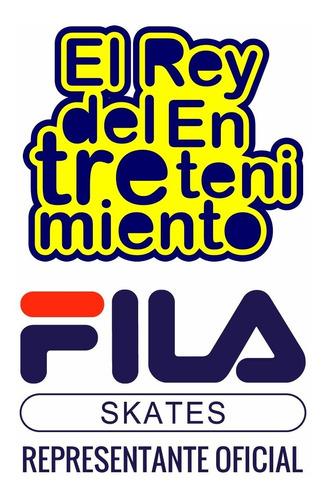 casco fila regulable p/ niños patines bicicleta skate el rey