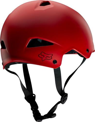 casco fox flight hardshell rojo mate talla m bici mtb