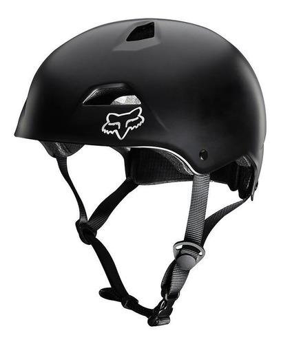 casco fox flight sport  negro