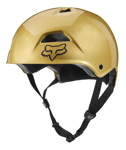 casco fox flight sport oro