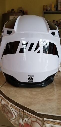 casco fox nuevo talla l