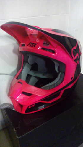 casco fox v1 2019!! super chuzos!!!