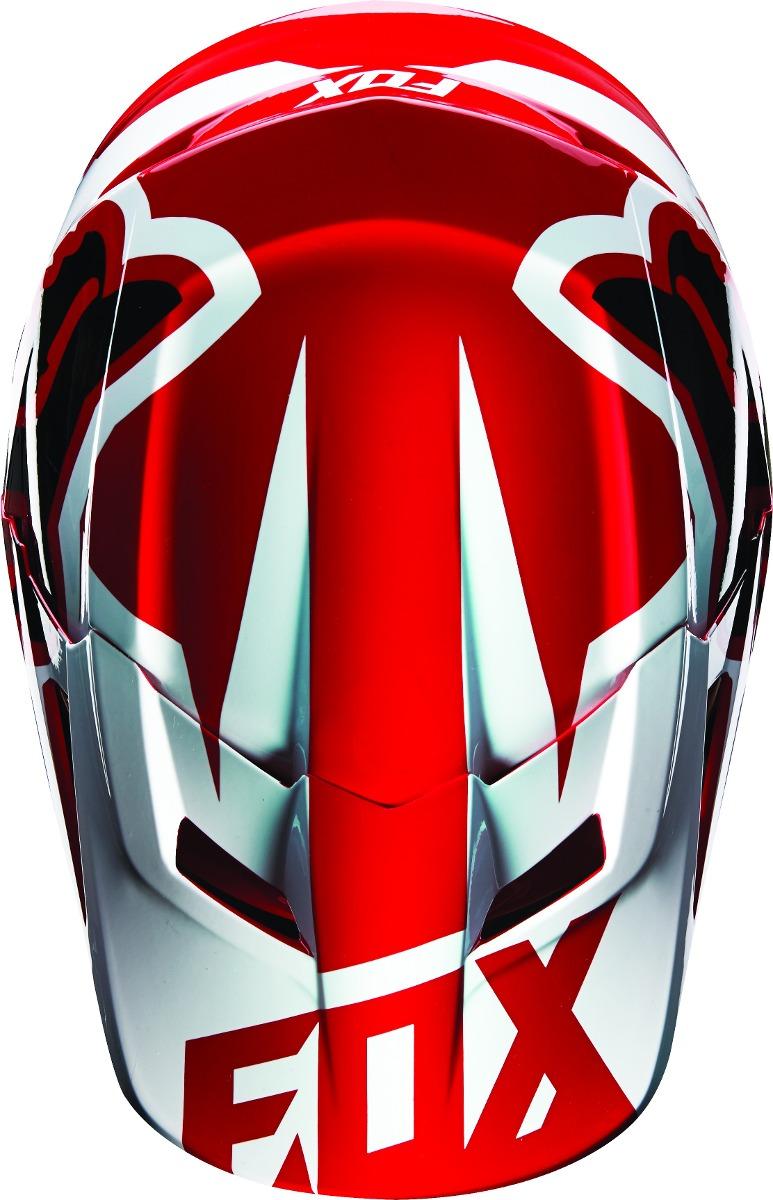 Casco Fox V1 Race Rojo 2016 Motocross Atv Talla S