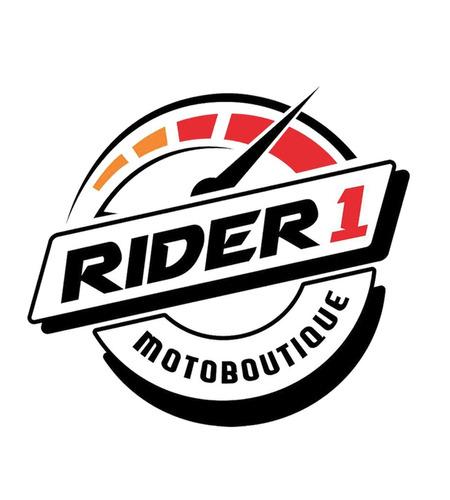 casco gdr con mica burbuja wheel gold/oro gloss rider one