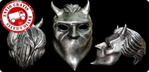 casco ghost (nameless ghoul) mascara halloween, disfraz