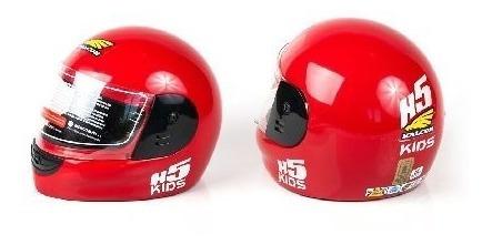 casco halcon h5 kids niños chicos homologado en devotobikes