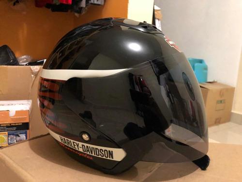 casco harley davidson. 3/4 talla xl