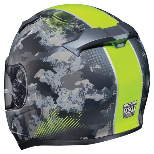 casco hjc cl-17 void mx p/motocross mate negro/amarillo lg