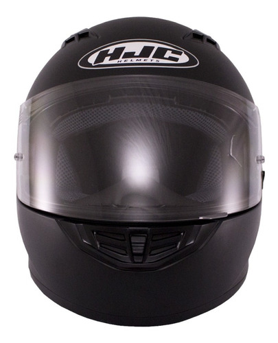 casco hjc cs-15 solid semi flat black