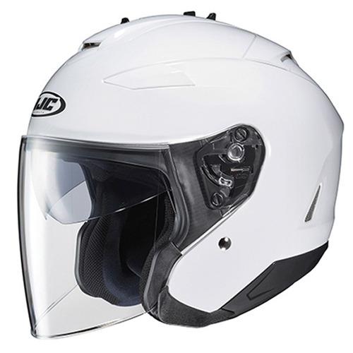 casco hjc is-33 ii rostro descubierto blanco lg