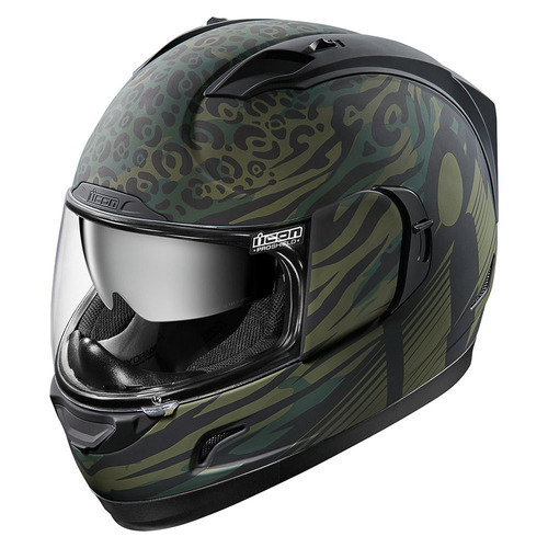 casco icon alliance gt operator rostro completo verd/negr xl
