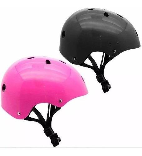 casco infantil para niño niños bicicleta skate patin etc ®
