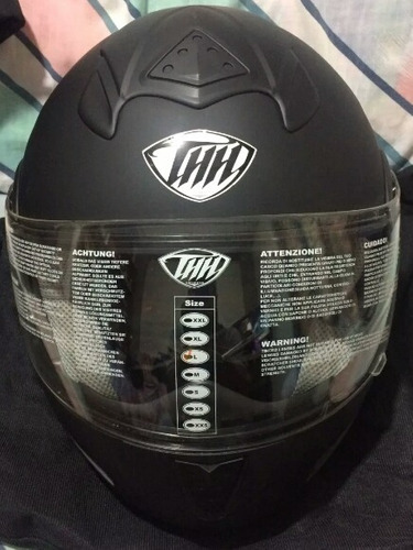 casco integral abatible modular thh