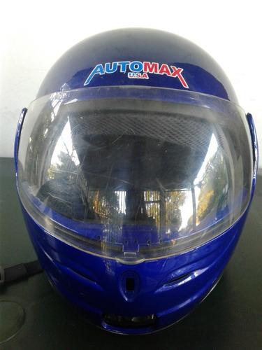 casco integral abatible moto