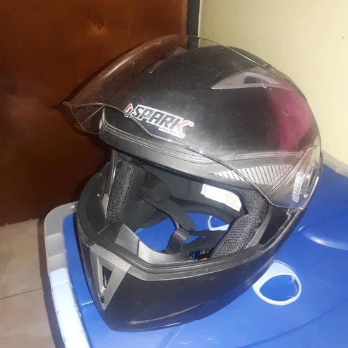 casco integral abatible spark