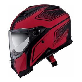 Casco Integral Caberg Stunt Blade Negro/rojo Doble Visor