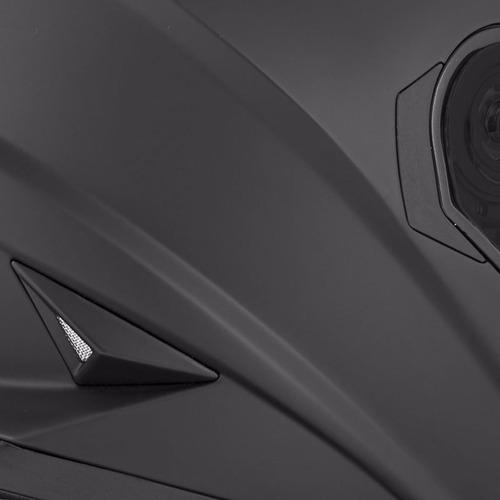 casco integral joe rocket rkt 16 series solid negro mate