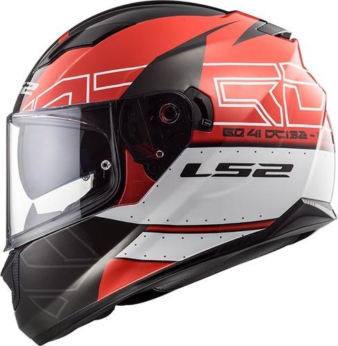 casco integral ls2 320 stream evo doble visor 2019 - cuotas