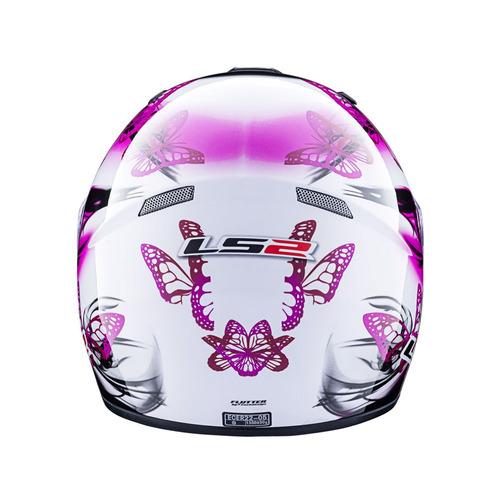 casco integral ls2 352 flutter dama  oferta talle l normotos