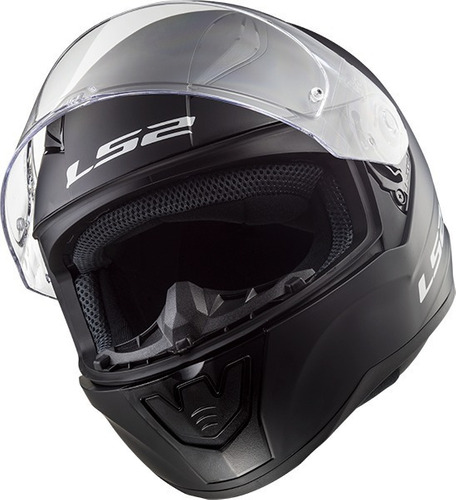 casco integral ls2 f 353 rapid negro mate brillo devotobikes