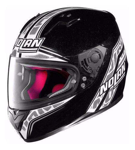 casco integral nolan n64 rapid negro 097 cuotas en fas motos
