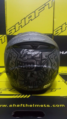 casco integral shaft azteca sh-581