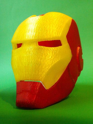 casco iron man