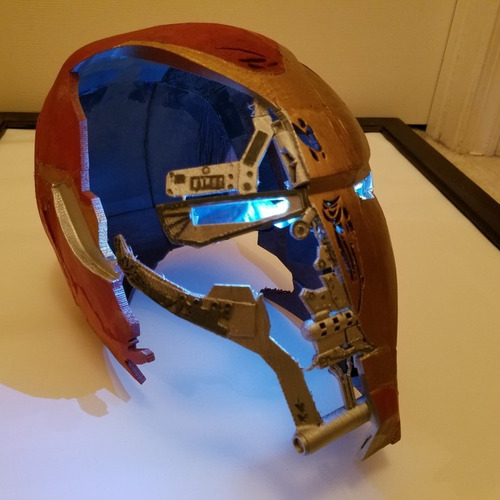 casco ironman avengers 4 endgame mark 50