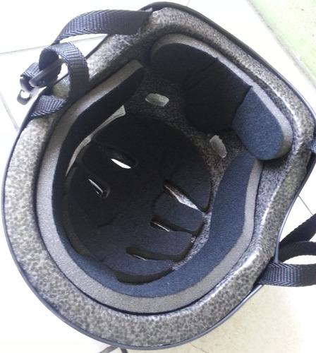 casco + kit de protección (rodilleras+coderas+guantes)