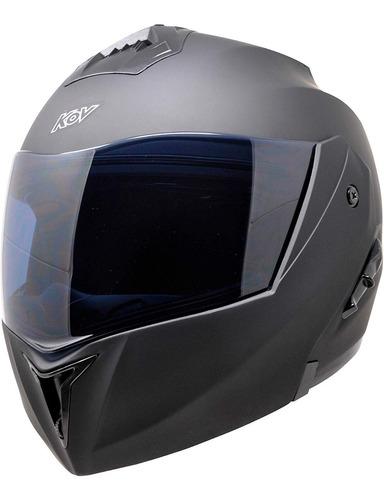 casco kov stealth abatible certificado dot varios colores
