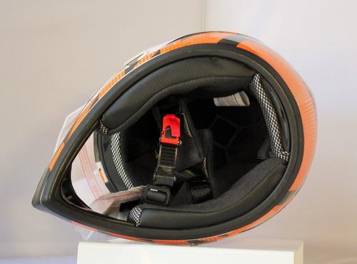 casco ktm | estilo cross - enduro, con o sin visor, oferta!