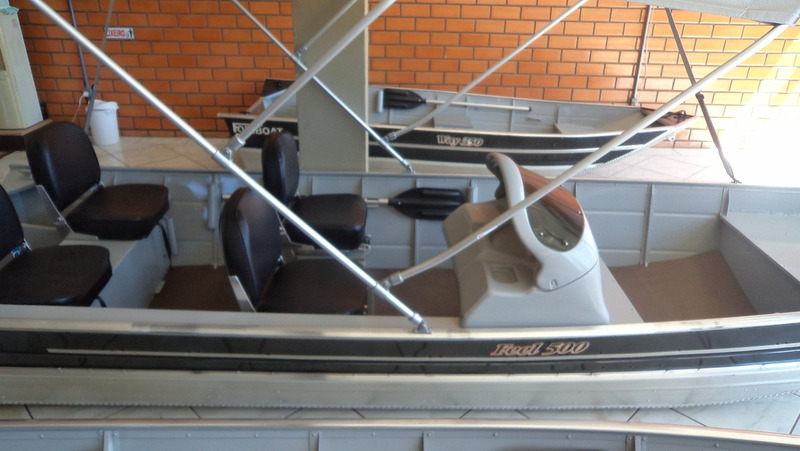 casco lancha de alumínio fortboat feel 500 semi chato