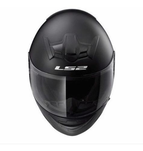 casco ls2 ff 352 single mono gloss