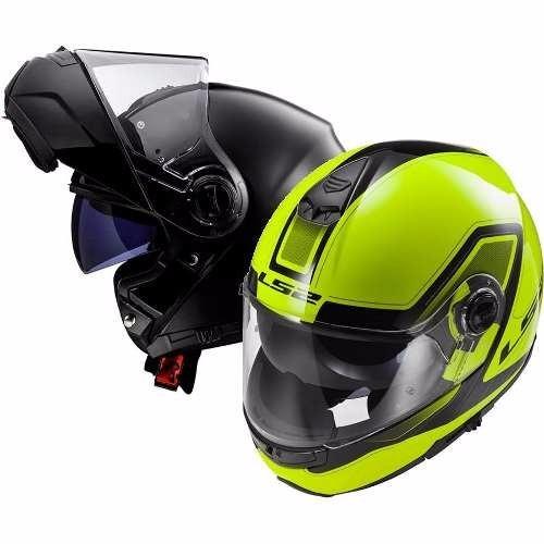 casco ls2 rebatible