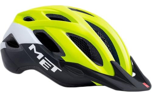 casco met crossover con visera