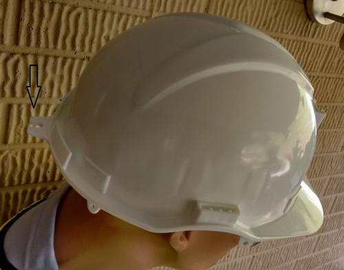 casco minero intruder dielectrico con portalampara medellin