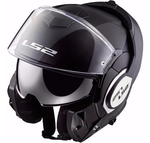 casco modular ls2 f399 valiant 180° cuotas en devotobikes